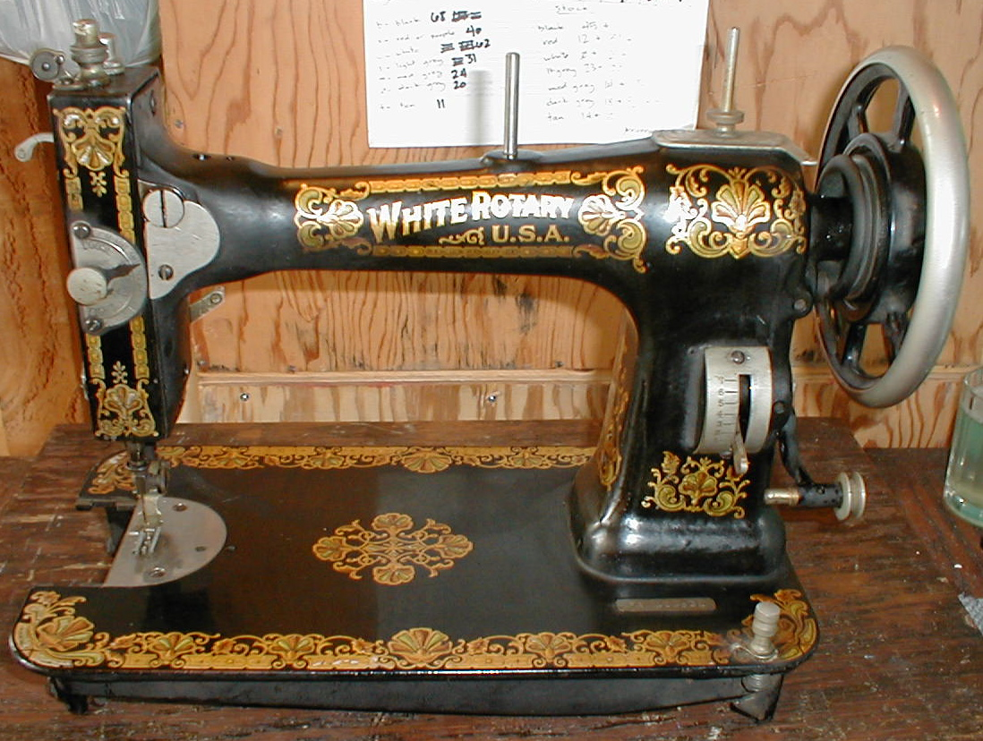 dating white rotary sewing machines Identifying vintage sewing machines for dating antique sewing machines my husband just purchased an old white rotary machine in cabinet with treadle.