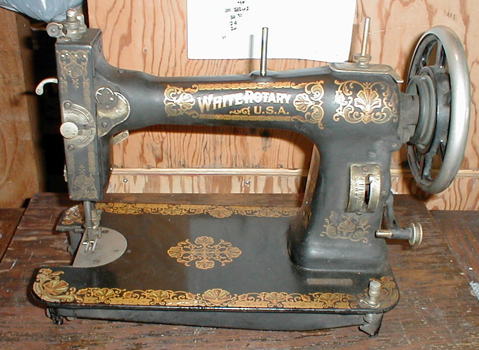 Joels White Family Rotary Impressive Standard Sewing Machine